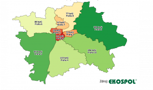 Aktuálně nejvyhledávanější pražské lokality pro bydlení jsou Smíchov, Letňany a Vysočany