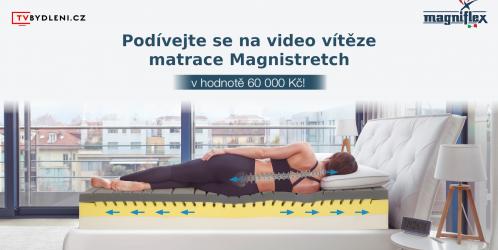 Panochovi vyhrávají matraci Magnistretch od společnosti Magniflex v hodnotě 60.000 Kč!