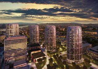 Bratislavský projekt SKY PARK od světové architektky roste před očima
