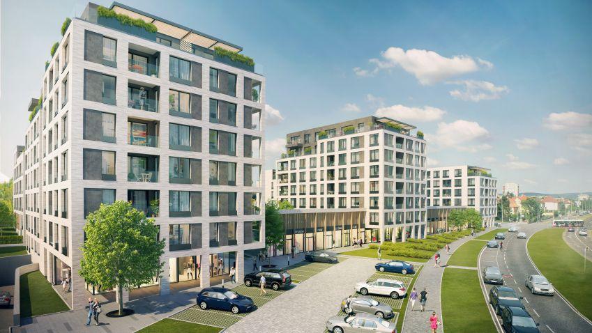 Bydlení v zeleném přístavu: Rezidenční trh v Praze obohatí nový projekt Green Port Strašnice