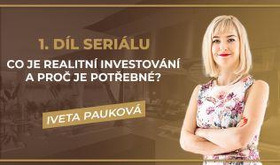 Co je realitní investování a proč je potřebné?
