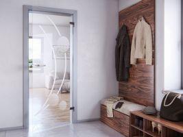 Pískované dveře Cristal cr031p rozjasní interiér