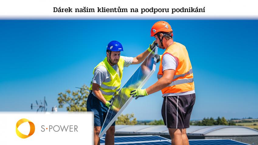 Den s S-Power - Realizace fotovoltaické elektrárny