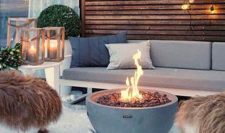Designová plynová ohniště udělají zážitek z každého posezení