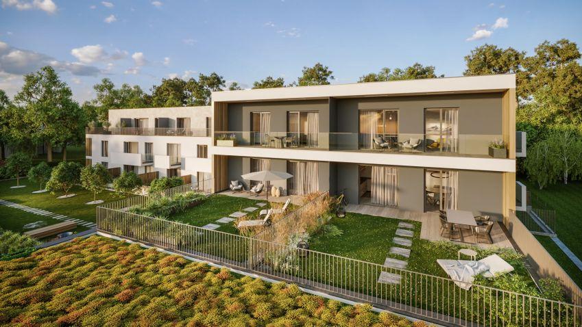 Designové byty za Prahou nabízí kvalitní bydlení srovnatelné s pražskými projekty