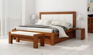 Jaké dřevo vybrat pro postel z masivu? Nakonfigurujte si postel přímo u výrobce.