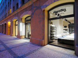 Showroom společnosti Magniflex v Praze
