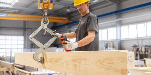 Jak se vyrábí dřevostavby - Výroba stropů