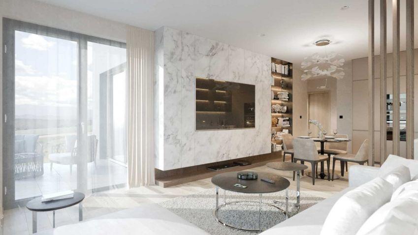 Elegantní styl se ideálně hodí do luxusních městských bytů a honosných vil