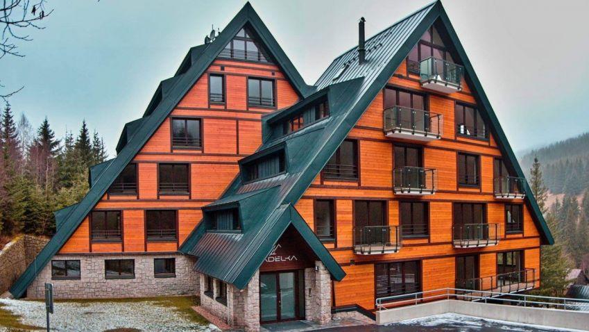 Fotogalerie: Proměna horských apartmánů Adélka
