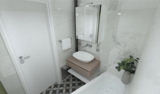 Fotogalerie: úplná proměna malé koupelny