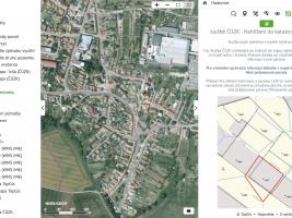 Geoinformační systém obce Hodonice