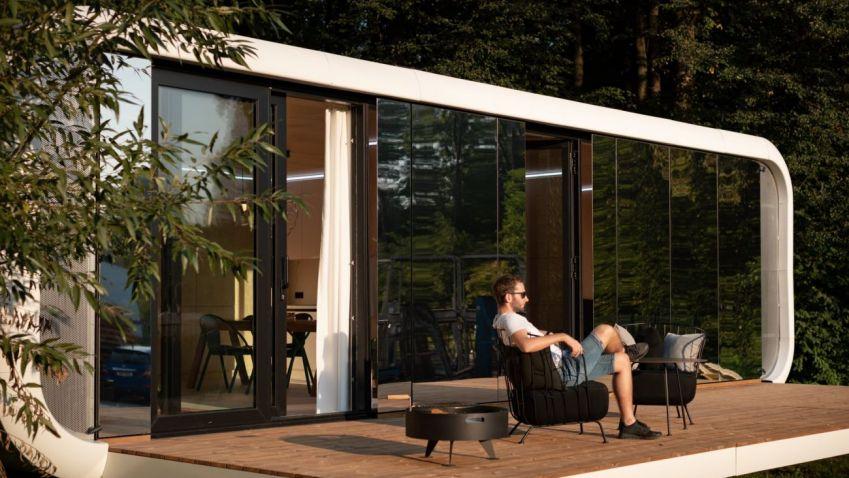 Modulový domek se může stát tím správným útočištěm pro víkendy s rodinou