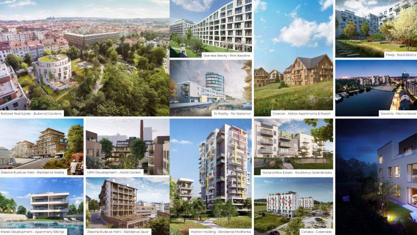 Hledáte nový byt? Podívejte se na přehled aktuálních projektů...