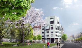 Hrubá stavba brněnského projektu Milhouse dokončena