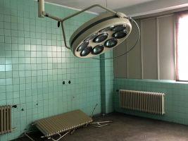 Nikdy nevyužitý operační sál. Zdroj: Clementas