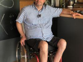 Michal Jančařík v pořadu Bydlení handicapovaných