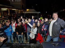 Slavnostní otevření náměstí - Javor