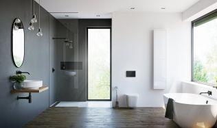 Inspirace: Černobílá koupelna bude působit nadčasově!
