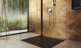 Inspirace: Design sprchových vaniček v úrovni podlahy