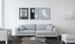 Inspirace: Designová stěrka dodá interiéru atraktivní vzhled