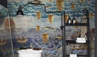 Inspirace: Jak díky tapetě vdechnout nový život vaší koupelně