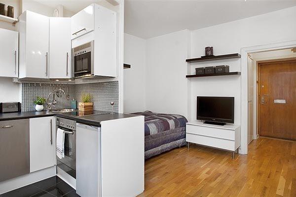 Inspirace: jak zařídit obývací pokoj s kuchyní v malém prostoru