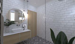 Inspirace: Koupelna zařízené v přírodních barvách vám zajistí ten správný relax