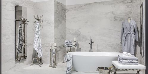 Inspirace: Luxusní dlažba v imitaci mramoru