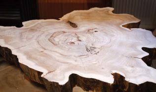 Inspirace: použití dřeva starých stromů v interiéru