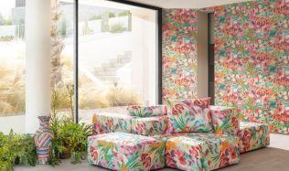 Inspirace: Tapety jsou stále in! Italská značka nabízí luxusní kousky plné barev