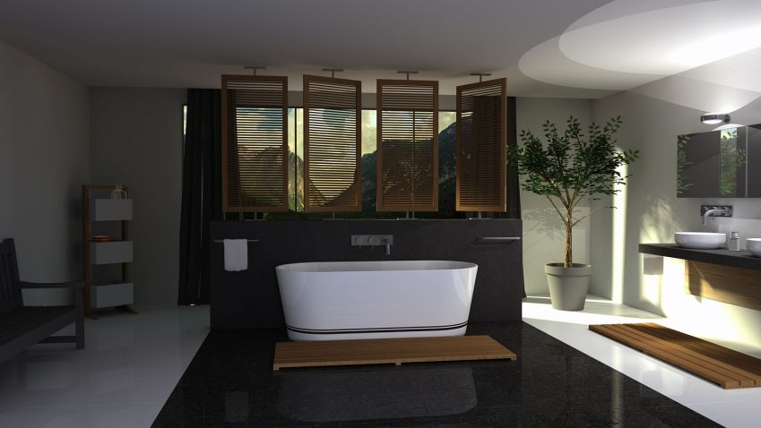 Inspirace: Vana vs. sprchový kout
