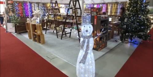 Inspirace: veletrh vánočních dekorací