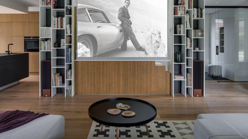 Interiér rodinného domu může být díky zajímavému pojetí architektů velmi osobitý a jedinečný