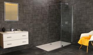 Jak mít velký sprchový kout, a přesto nezmenšit prostor koupelny?