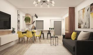 Jak vnést světlo do tmavého interiéru? Pomohou barvy i správně zvolený nábytek
