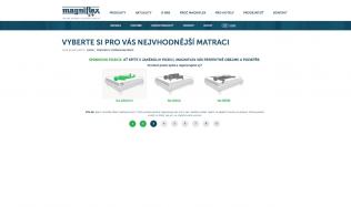Zajímavá aplikace pro výběr matrace!