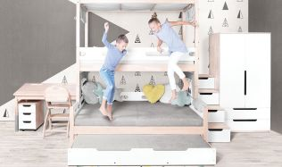 Jak zařídit dětský pokoj? Volte světlé barvy, vhod přijde rostoucí nábytek