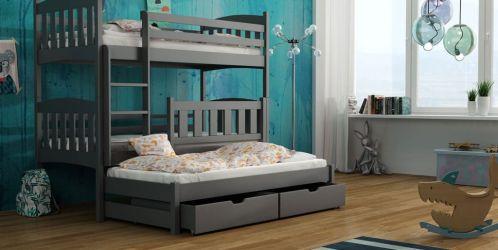 Jaké jsou výhody patrové postele. Ocení je nejen alergici a děti