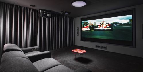 Kino ve vlastním domě? Proč ne!