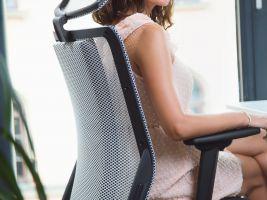 Infračervená kancelářská židle I-Medic