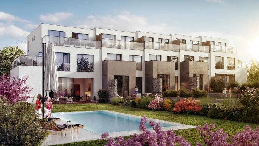Lipenecký park: Nové bydlení v Praze a zároveň v přírodě
