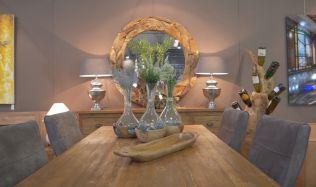 Masivní teakový nábytek vám svojí originalitou vyrazí dech!