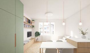 Mátová barva dokáže rozjasnit interiér, a navíc se dobře kombinuje