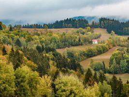 Krkonošská krajina