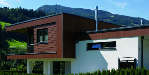 Moderní dům potřebuje moderní komín! Hitem jsou nerezové.