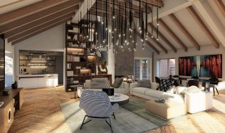 Navrhnout luxusní apartmán v hodnotě 120 milionů korun je snem každého designéra, říká Kateřina Kersey