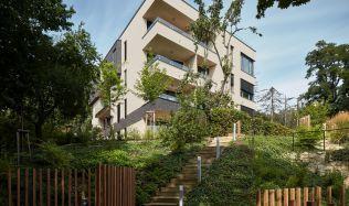 Nejlepším komorním rezidenčním projektem vČesku  se stala Barrandovská zahrada. Obhájila tak své loňské vítězství