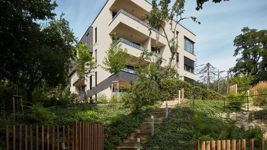 Nejlepším komorním rezidenčním projektem vČesku  se stala Barrandovská zahrada