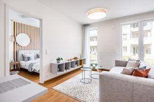 Nově vznikající rezidenční čtvrť v pražském Hloubětíně nabízí stovky energetických bytů v severském stylu
